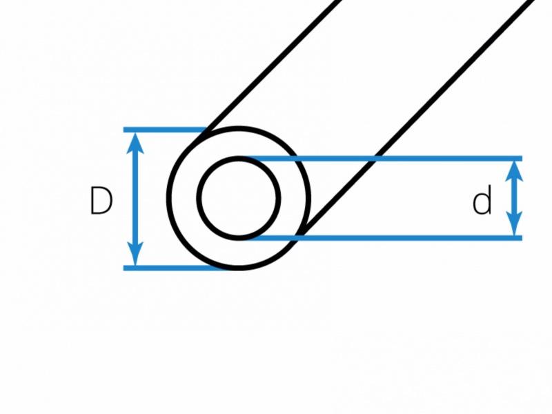 Hliníkovo - bronzové trubky kruhové