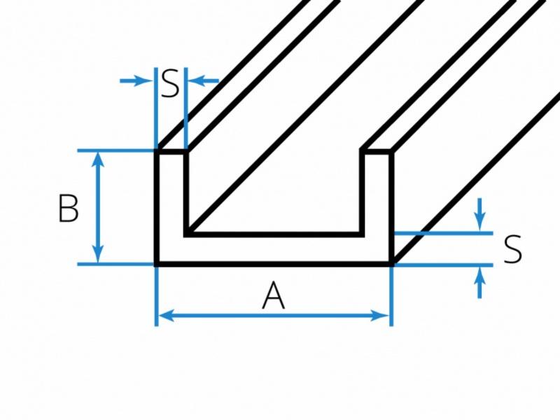 Aluminium-U-Profile