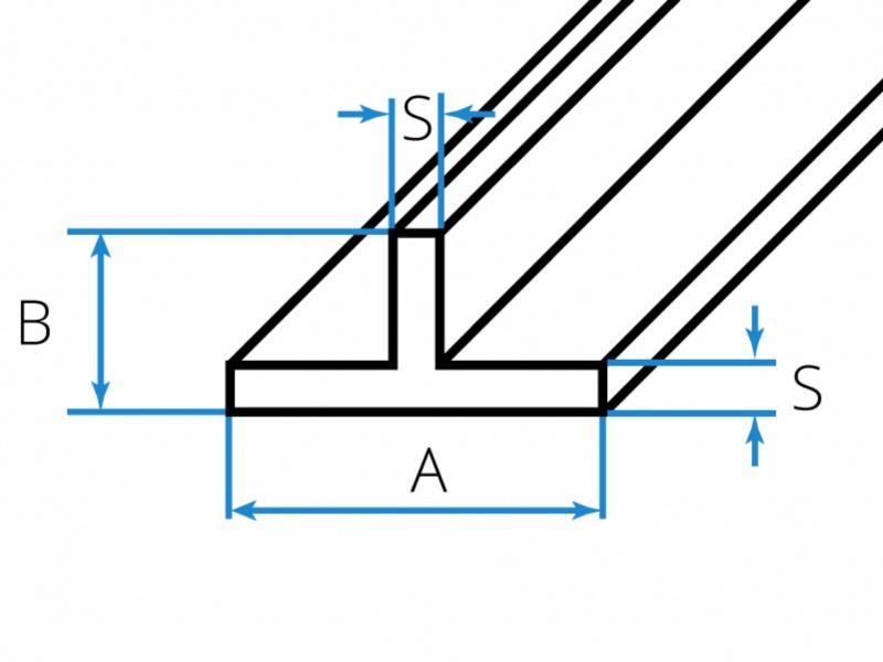 Aluminium-T-Profile